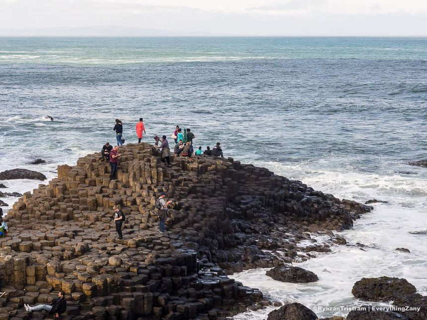 Giants Causeway in Northern Ireland - Best UK Travel Itinerary for Two Weeks
