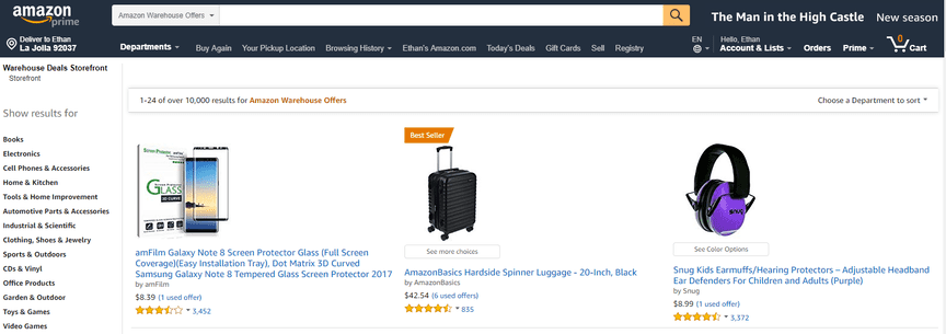 What Are Amazon Warehouse Deals