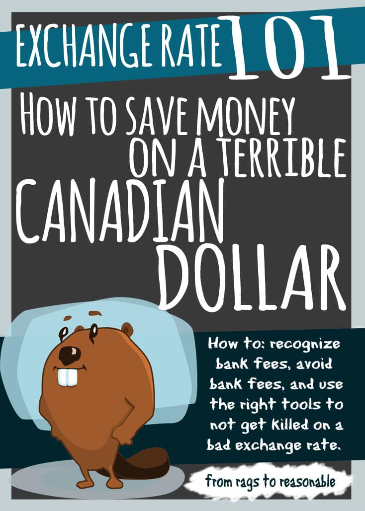 Exchange Rate 101: How to save money on a terrible Canadian dollar