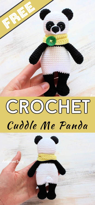 CP-137 Panda Crochet Pattern Animal Crochet Pattern Amigurumi Panda
