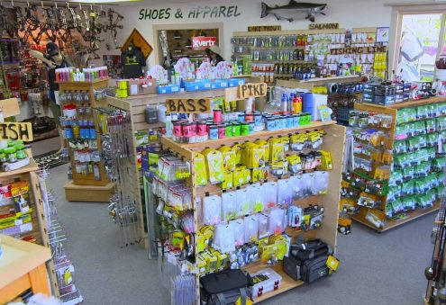 Fishing Tackle Shop Rack N Reel Sporting Goods