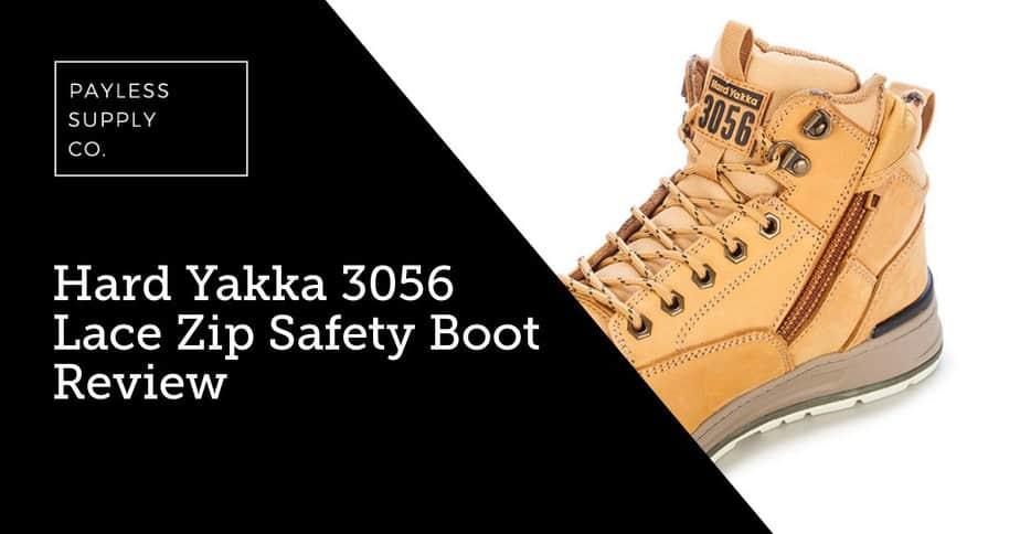 Hard Yakka 3056 Lace Zip Safety Boot Review