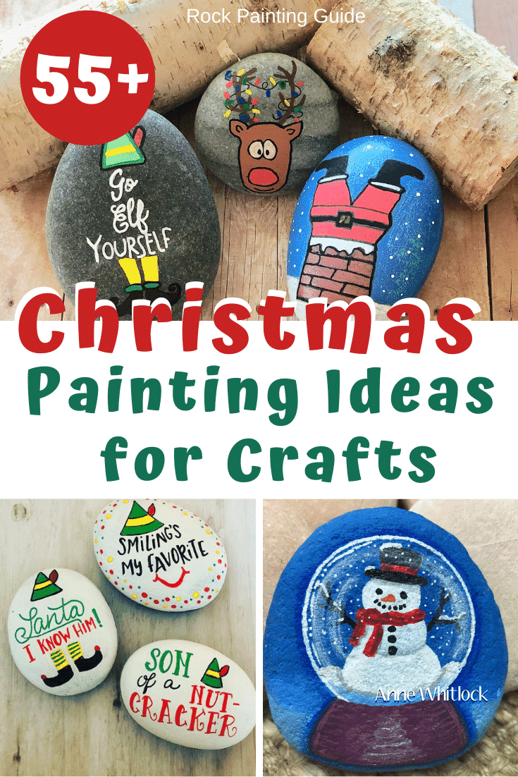 55 Best Christmas Painting Ideas That S Easy To Make