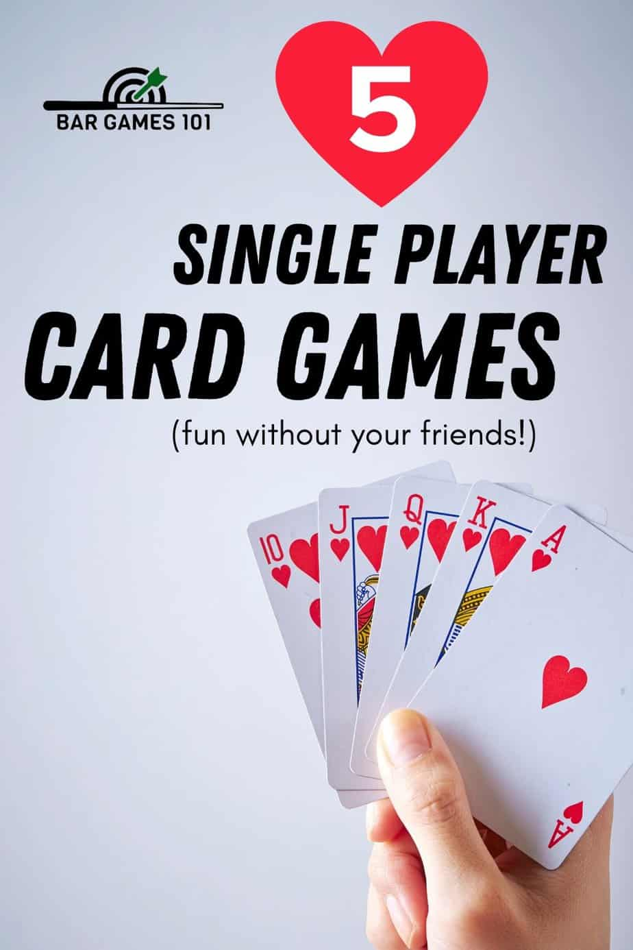 5 Single Player Card Games That Are Fun And Challenging