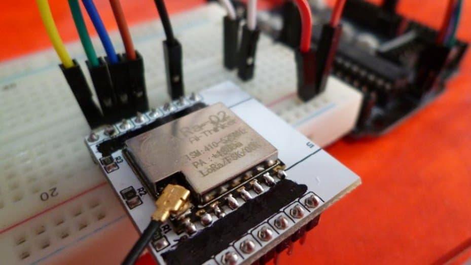Arduino UNO with Ai-Thinker RA-02 SX1278 LoRa Module – Robot Zero