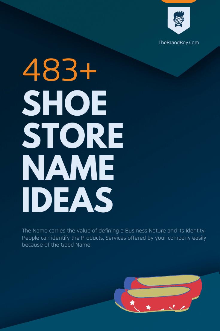 good shoe company names