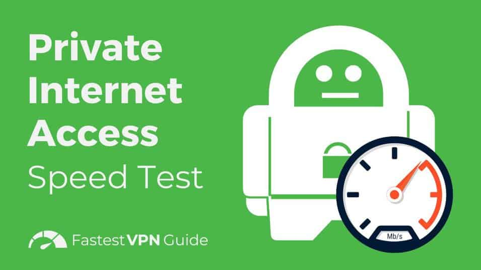 private internet access speed test - Private Internet Access Can T Reach The Vpn Server