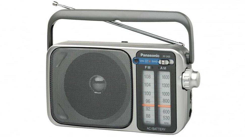 Waterproof Bathroom Radio Battery Powered Portable Outdoor Indoor FM AM Radio Speaker Mini Shower Radio