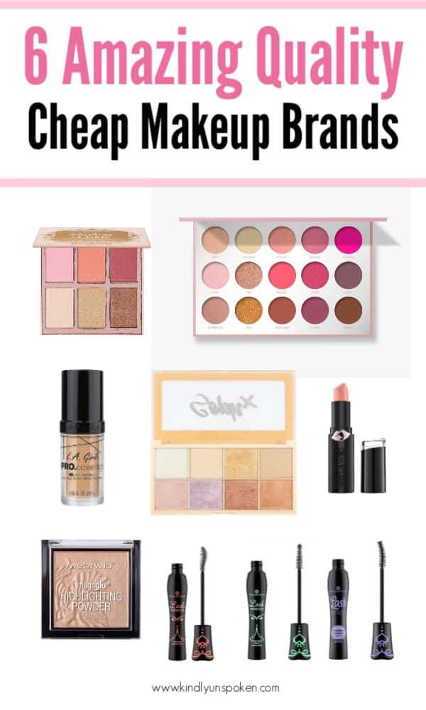 6 Best Cheap Makeup Brands To Try