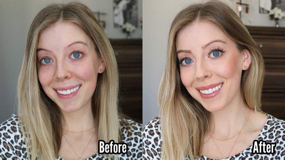 5 Minute Makeup No Foundation