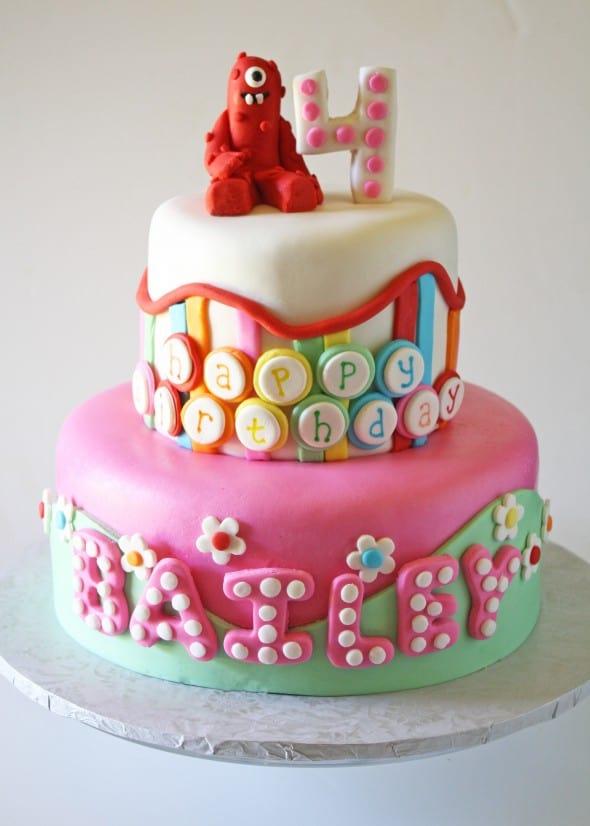 Awesome Yo Gabba Gabba Birthday Cake Cake Pops Funny Birthday Cards Online Elaedamsfinfo