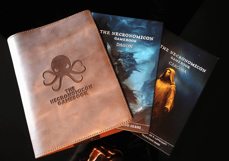 The necronomicon gamebook, limited edition