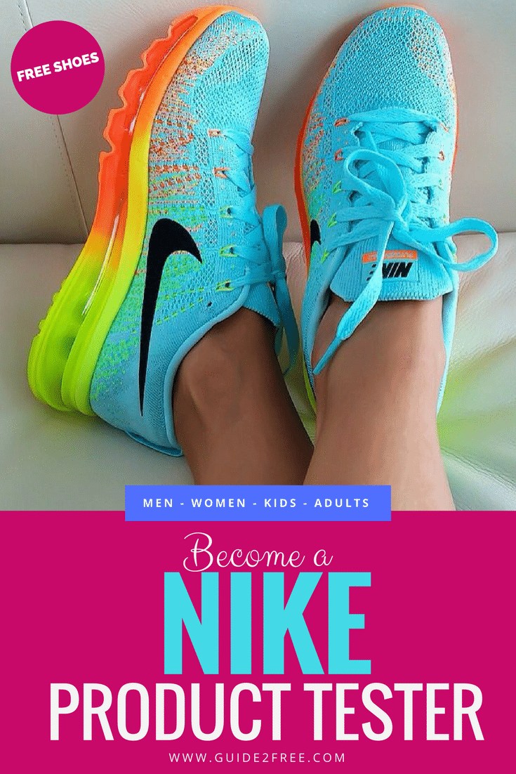 Sign up to be a Nike Product Tester