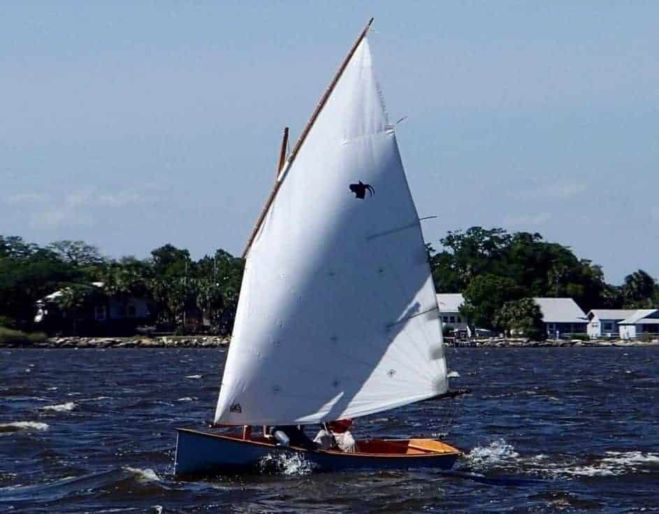 Why the Goat Island Skiff is fast. - Storer Boat Plans in Wood and Plywood
