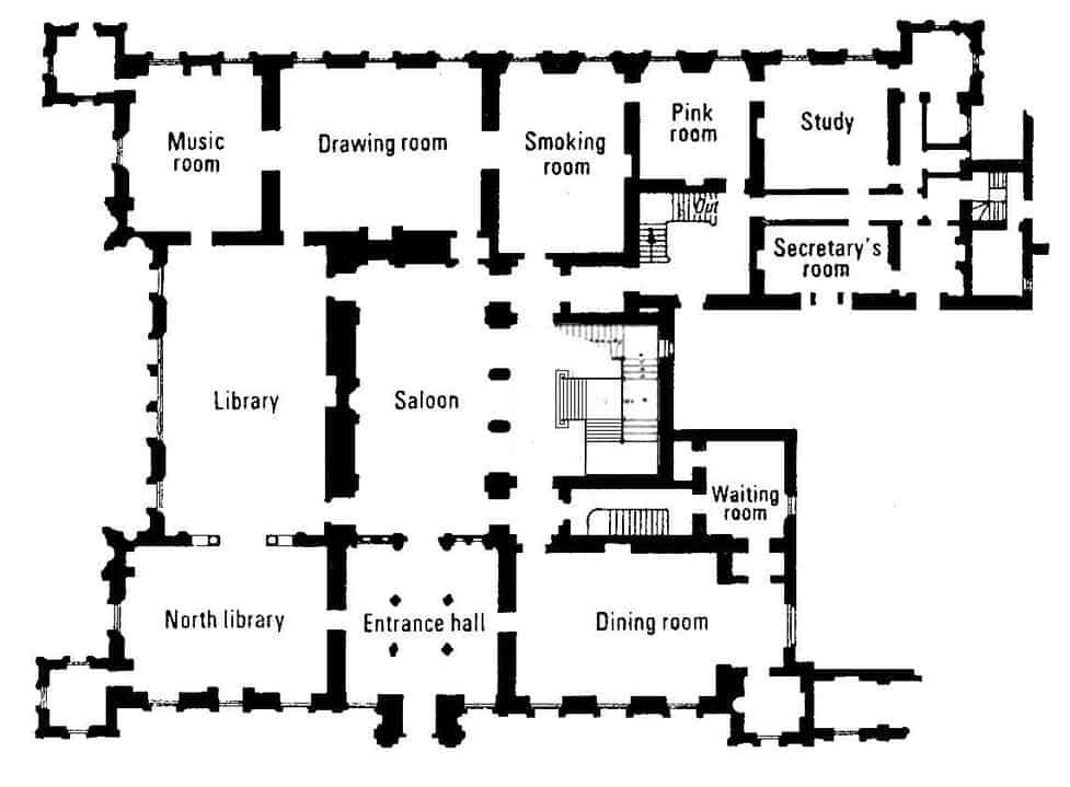 The Best 17 Floor Plan Highclere Castle Map