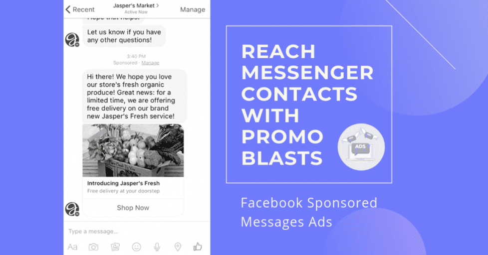 How to Create Facebook Sponsored Messages Ads: What They Are
