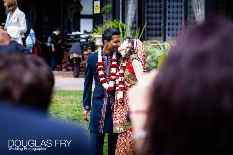 Wedding Photographer Bhaktivedanta Manor a Krishna temple and Hendon Hall