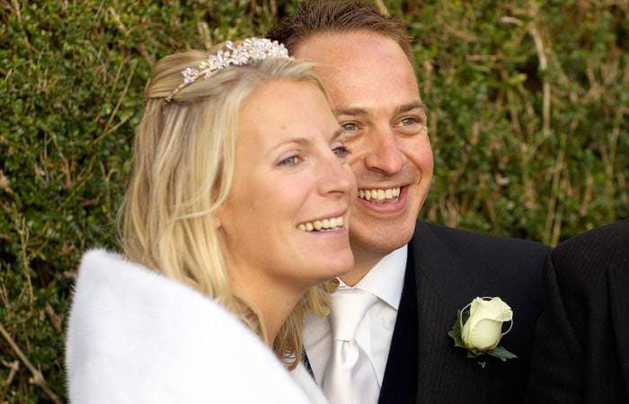 Abby and Mark's Wedding Photographs at Hambeldon 1