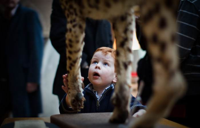 Children Photographed at The Natural History Museum Oxford 2