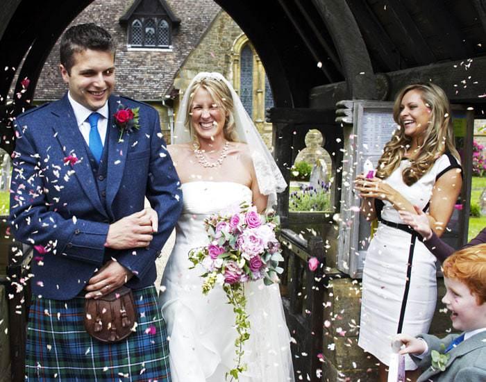 Vix and Ed's Wedding Photographed in Sevenoaks, Kent 3