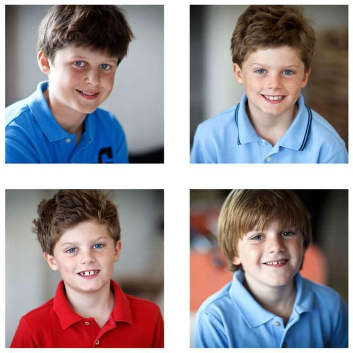 Boys Photographed in Wiltshire