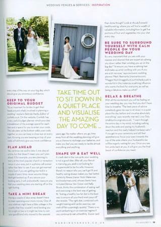 Douglas Wedding Photographs in Magazine 2011