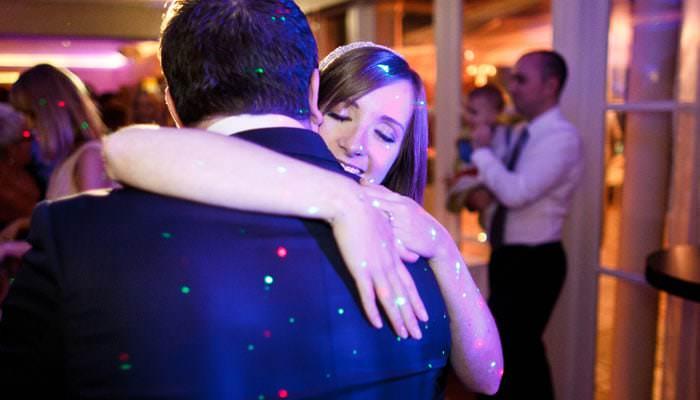 Wedding Photograph of dancing at the Bingham Hotel, Richmond, London