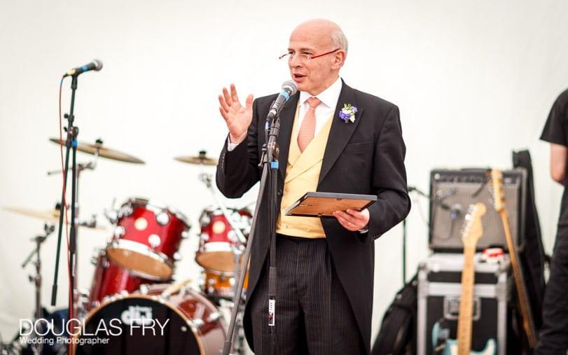Speeches at Gray's Inn wedding in London