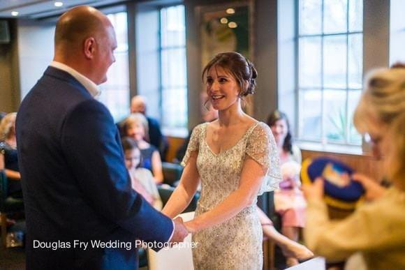Wedding photograph taken at Bluebird in Chelsea