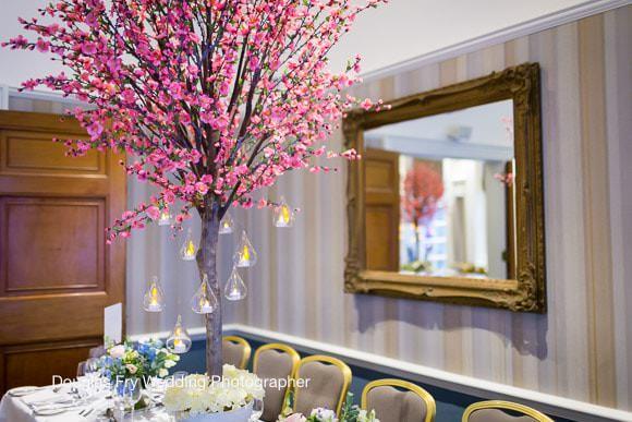 Table Decorations - London Wedding