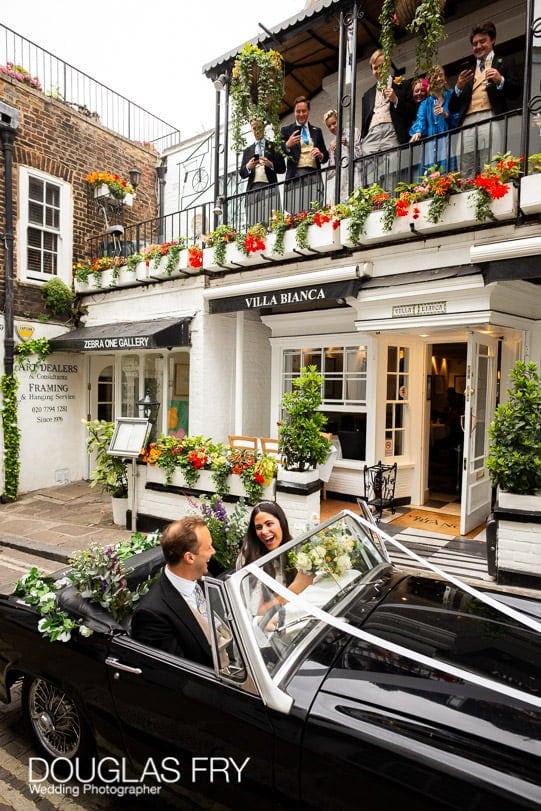 wedding restaurant in London