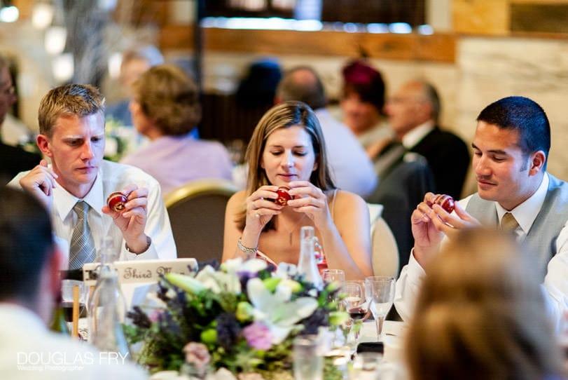 Wedding Photographer One Great George Street London - dinner
