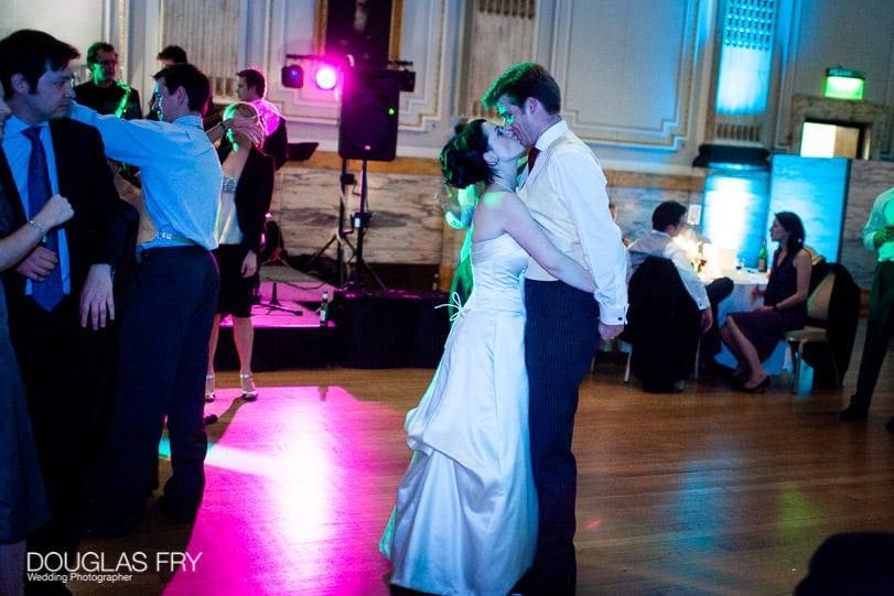 Wedding Photographer One Great George Street London - dancing