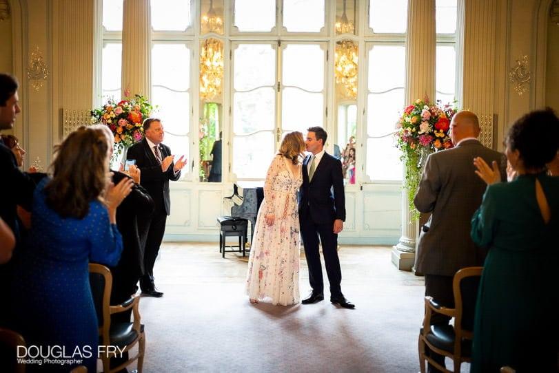Savile Club - wedding ceremony photographer