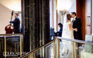 Couple photographed at wedding reception at RIBA in London