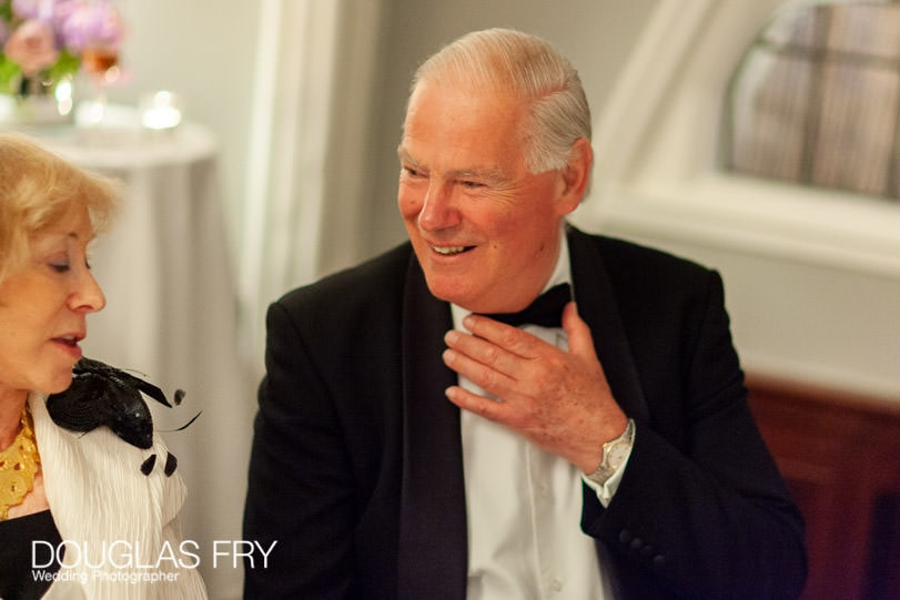 Golden Wedding Anniversary Party Photographer at Mosimann's Club in London for Lady Marshall 2