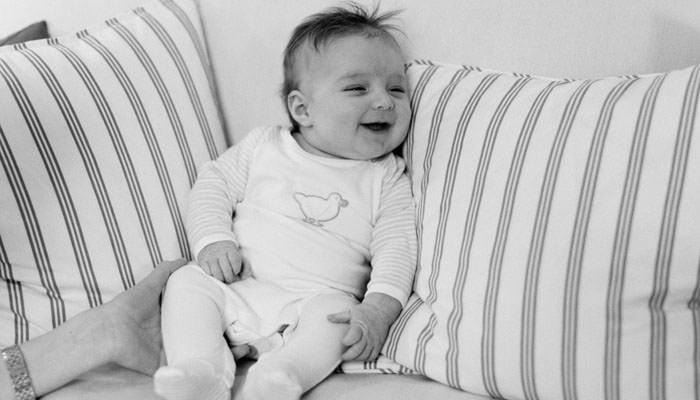 Baby photograph of Felix taken in London