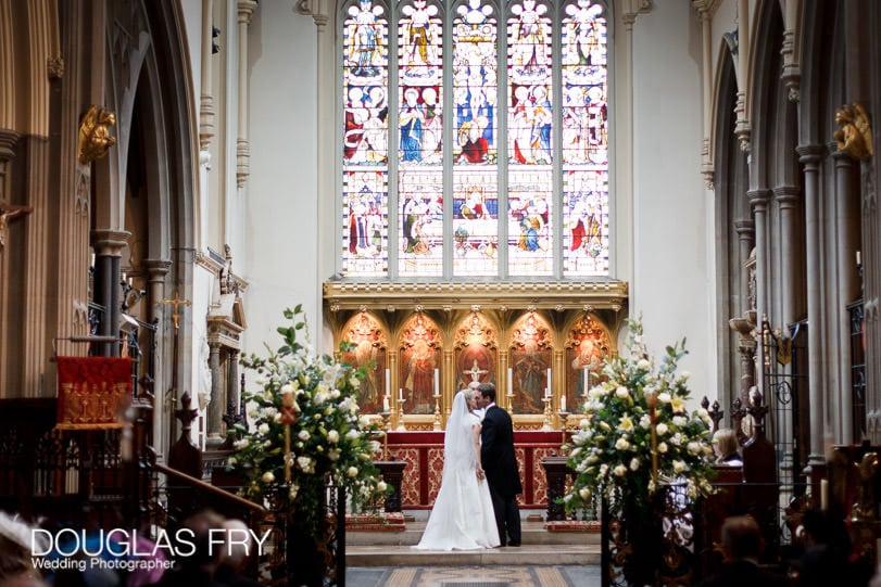 WEdding photography London - church service