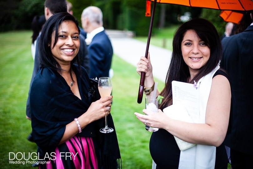 Drinks reception - wedding photographer Coworth Park