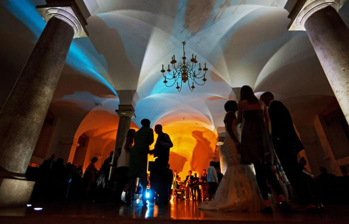 Wedding Photograph Dancing at Old Royal Naval College, Greenwich