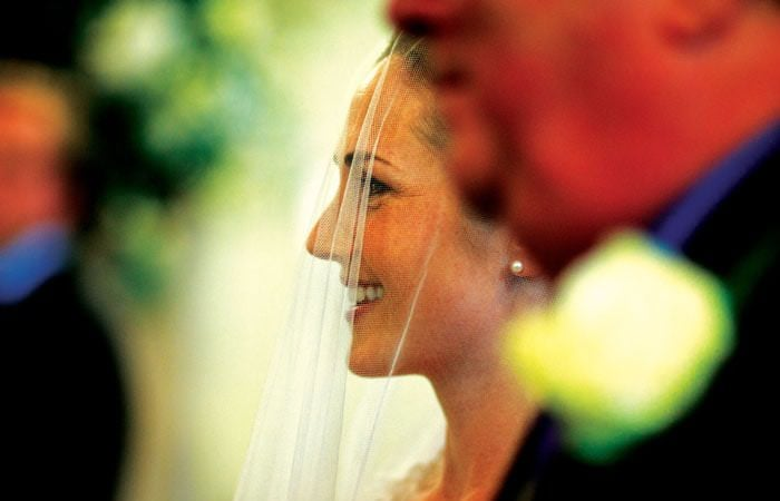 Wedding Photograph of Gloucestershire Bride