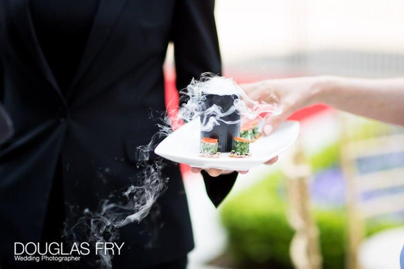 Wedding Photographer Mandarin Oriental Hotel - Food