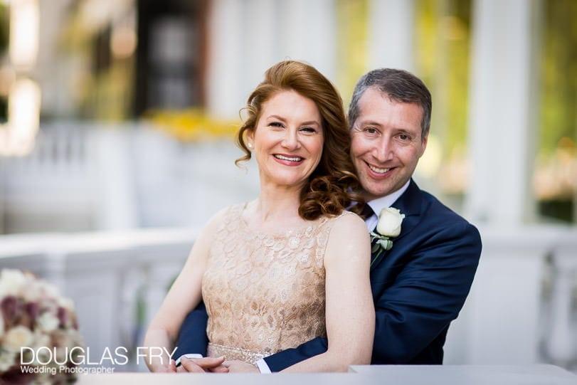 Wedding Photographer Mandarin Oriental Hotel - balcony photography over Hyde Park