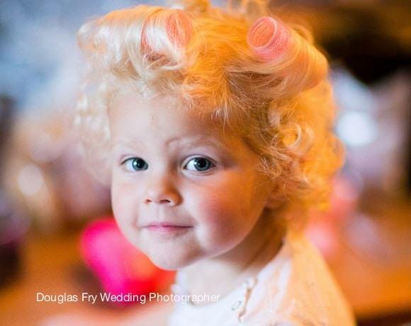 Wedding Photograph child