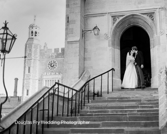 Wedding Photographer - Eton Chapel