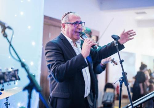 Band at Bar Mitzvah in London