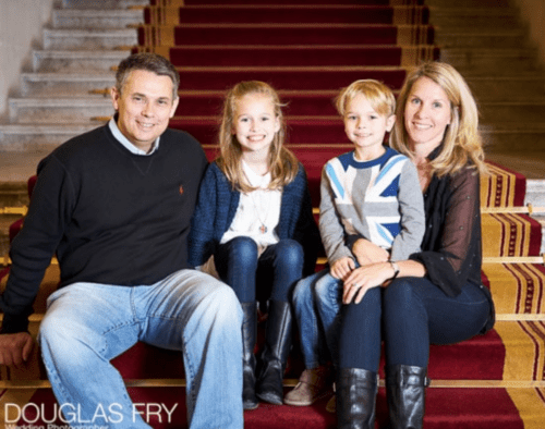 Family photography at the Law Society in London