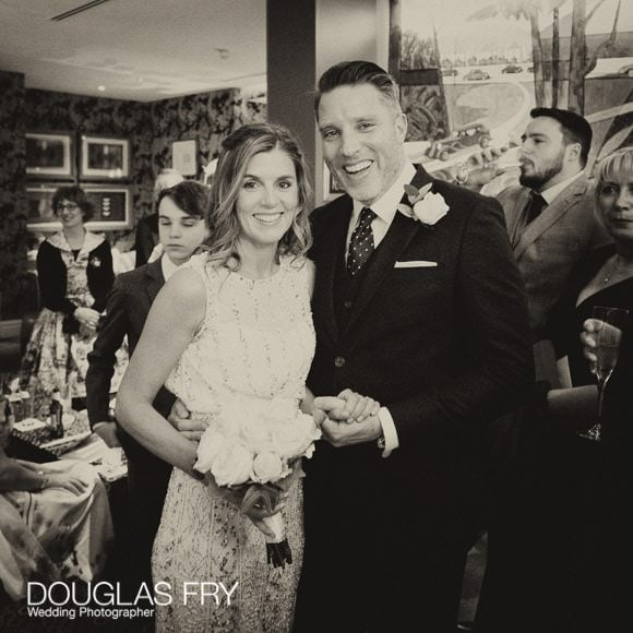 Wedding Photography in Soho - London - The couple together