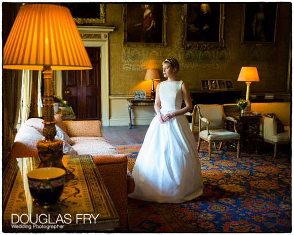 Bride at Syon House awaiting ceremony - Leica photograph with natural light