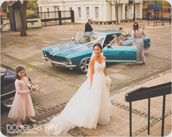 The Guards' Chapel and Cavalry and Guards Club Wedding Photographer 1